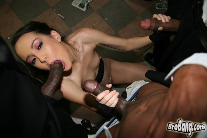 Amai Liu Sucking Cocks